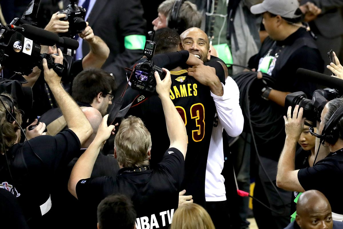 f5117275f75 LeBron James is saving Dahntay Jones from losing two-thirds of his salary