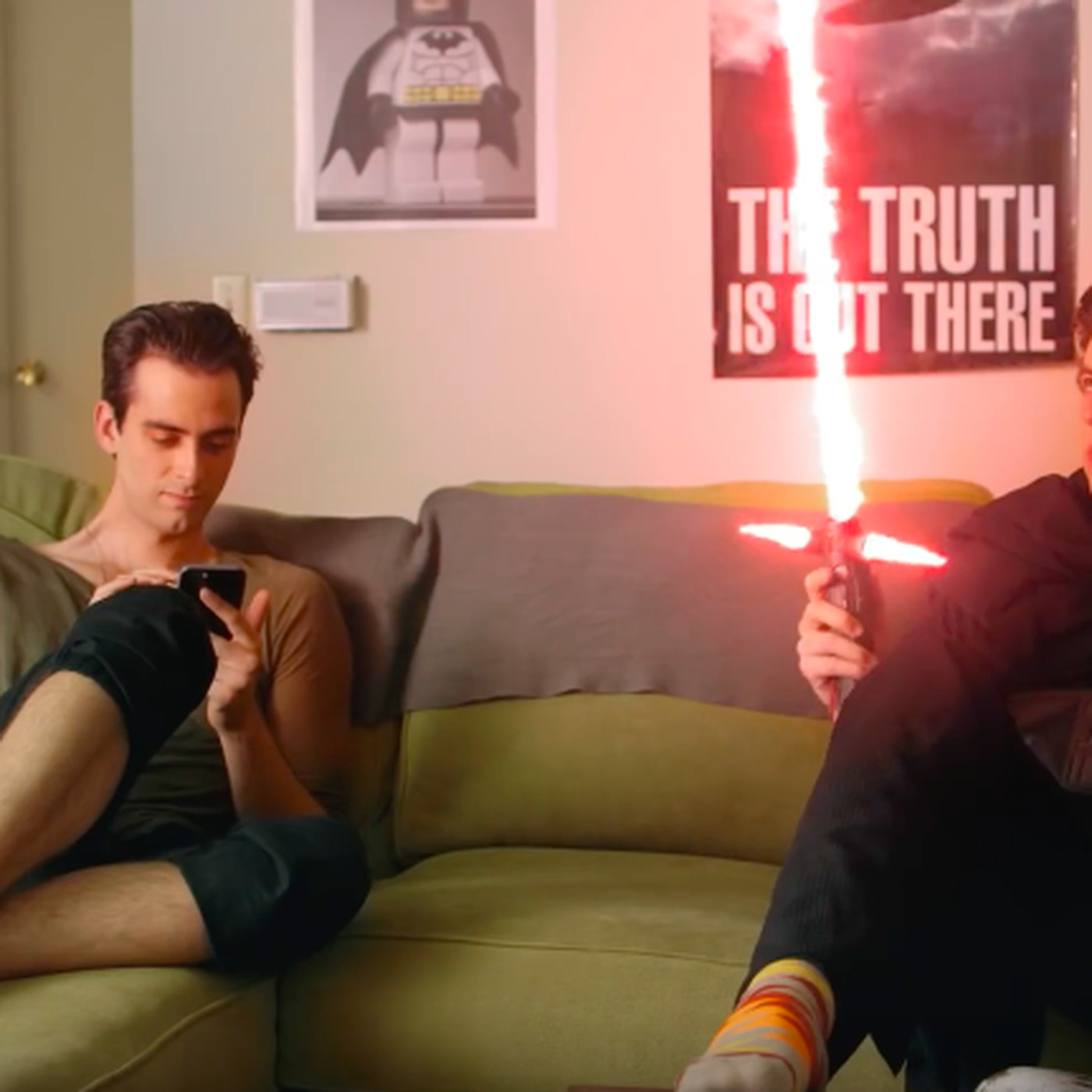 Kylo Ren and Loki become the worst roommates in new web series