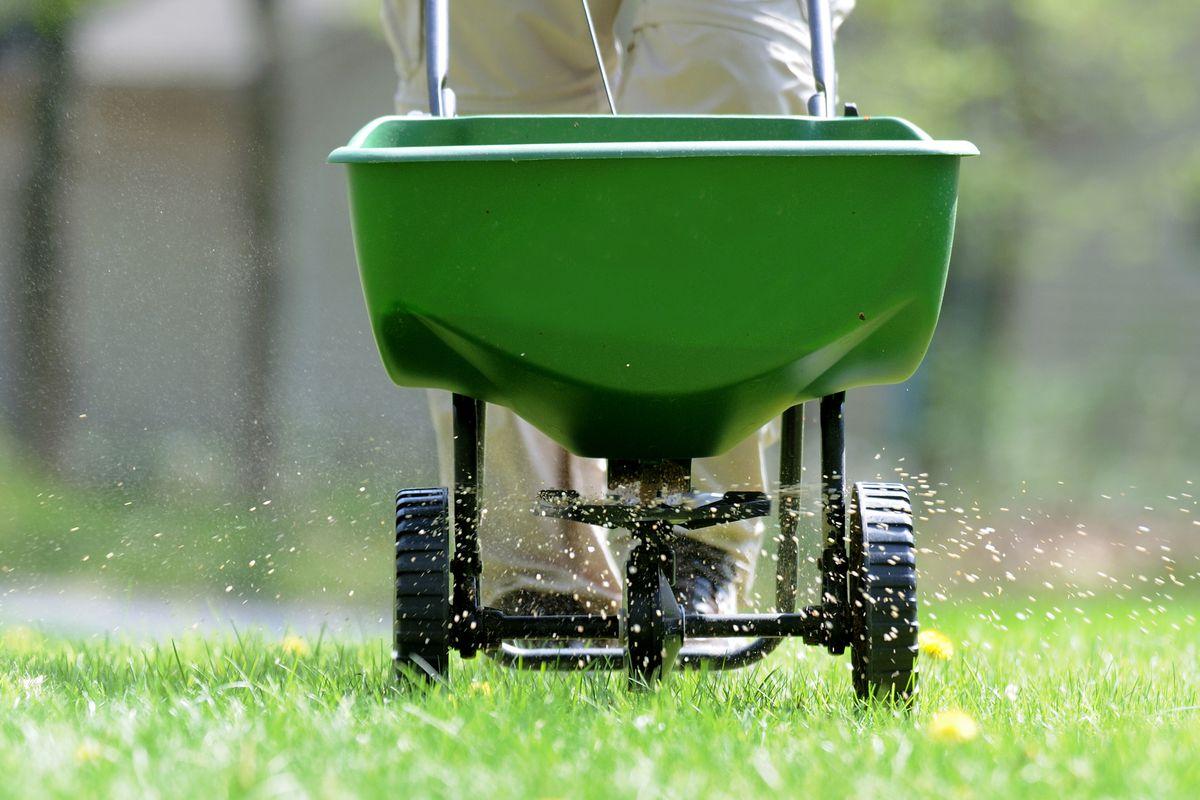 Summer 2021, Summer Checklist, fertilizing a lawn