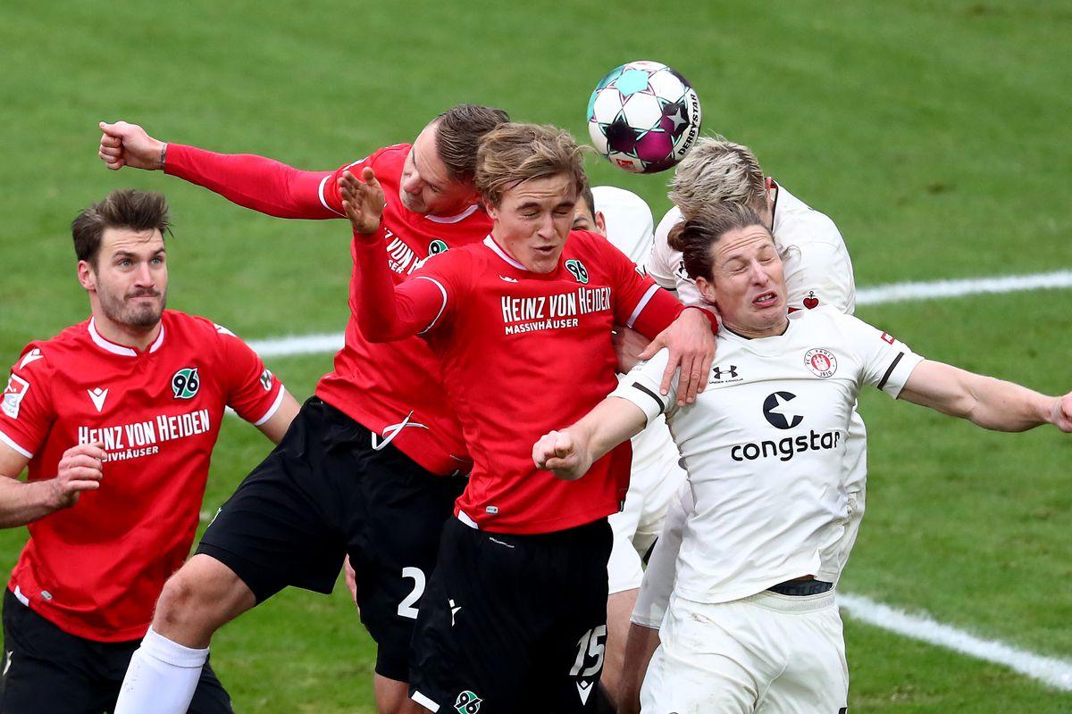 Hannover 96 v FC St. Pauli - Second Bundesliga