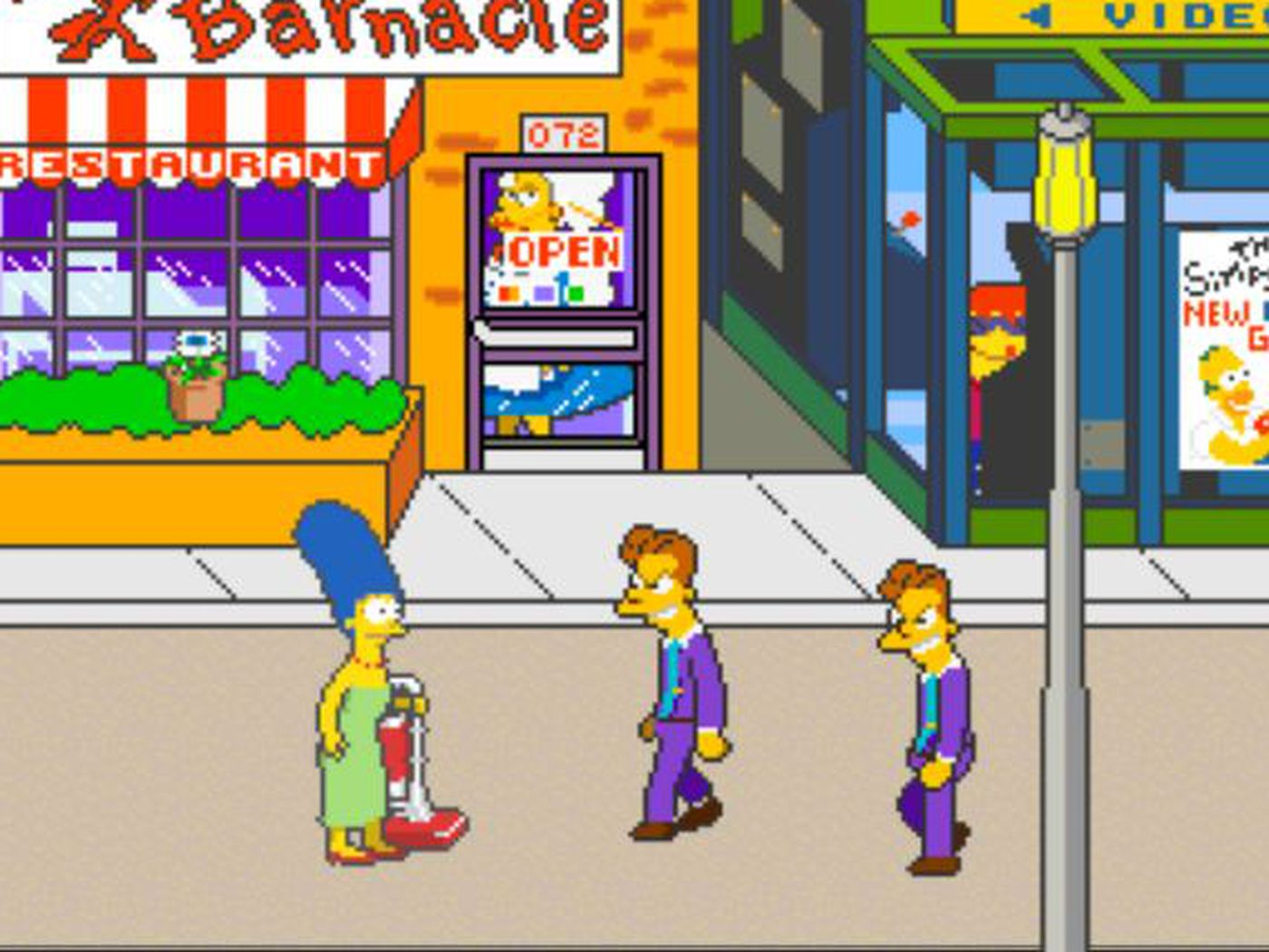 The Simpsons Arcade Game' was the best game ever based on a