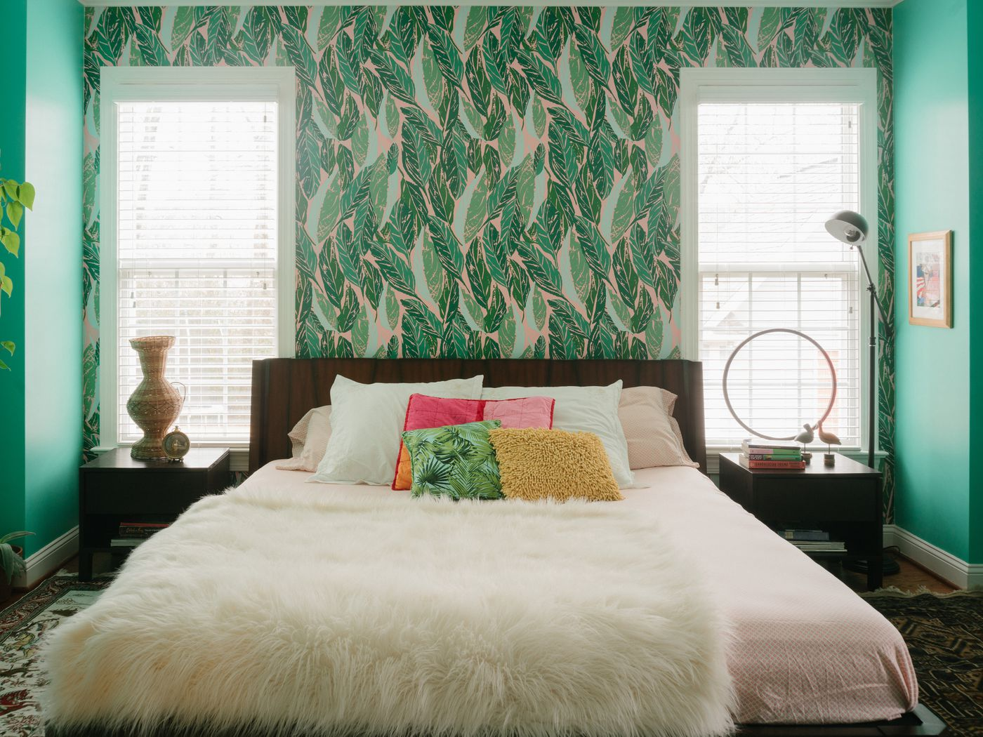 green and gray bedroom. In Design Bloggers Diy Dream House Color And Pattern Reign Curbed  Green For Bedroom icoscg com