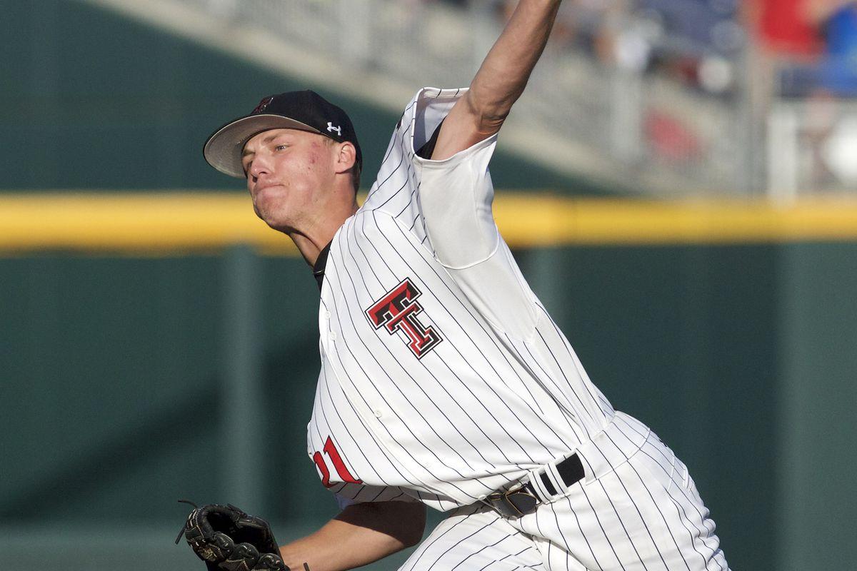 NCAA Baseball: College World Series-Coastal Carolina vs Texas Tech