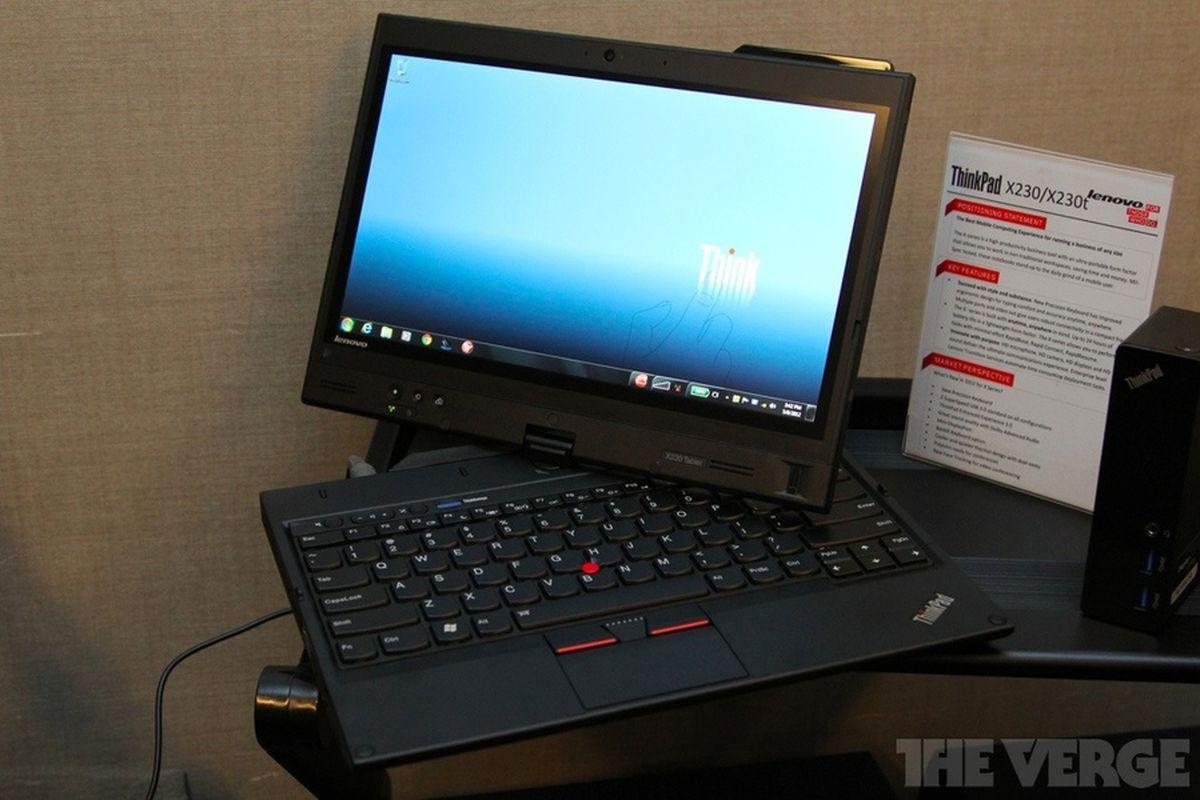 Lenovo announces 2012 ThinkPad lineup, including Ivy Bridge and
