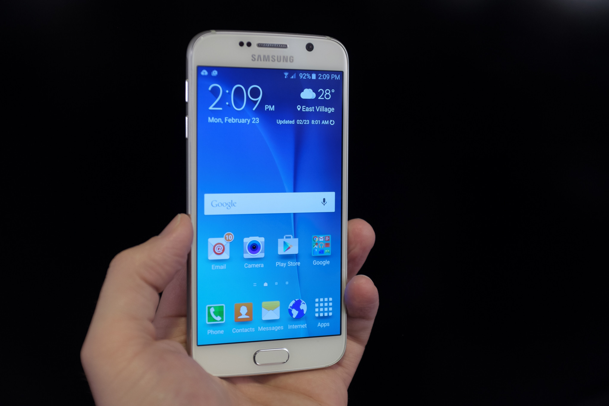 Samsung Galaxy S6 and S6 Edge photos