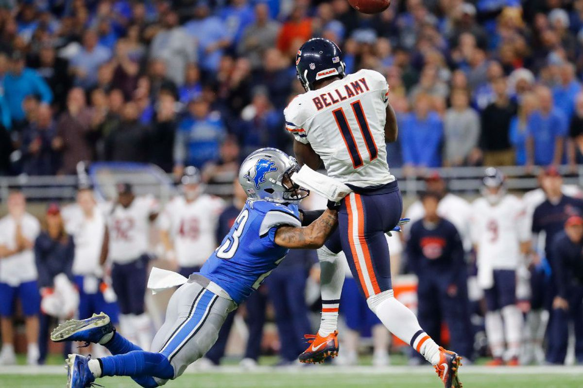 promo code 3f40a 6d751 Three-and-Out: Bears WR Josh Bellamy can't make late big ...