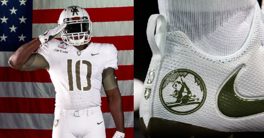 Army Vs Navy Black Knights White Uniforms Honor WWIIs