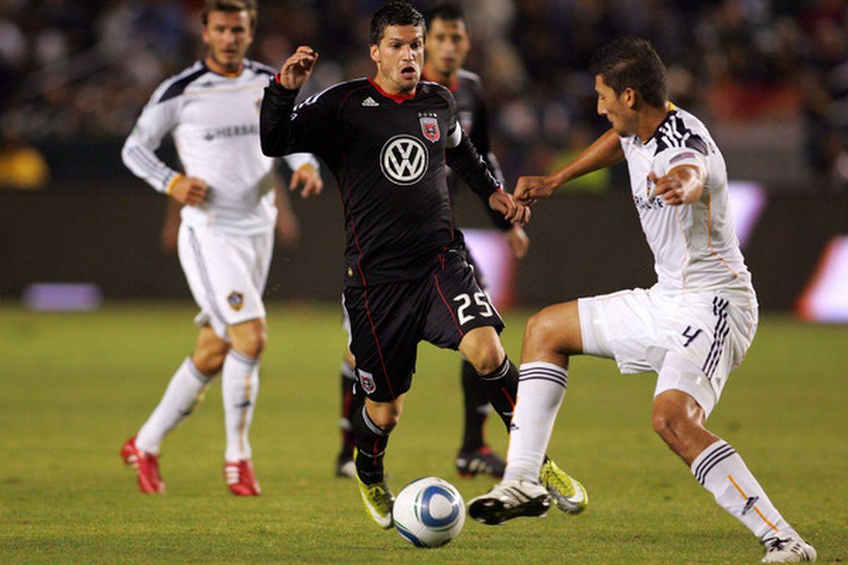 Santino Quaranta may be safe in the 2011 Expansion Draft thanks to Junior Carreiro