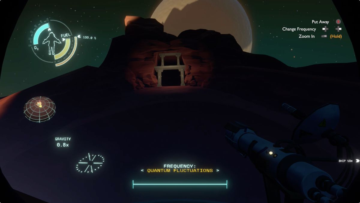 Outer Wilds Ember Twin quantum cave entrance