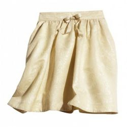 Recycled fabric skirt, $39.95