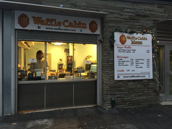 Waffle Cabin in Kendall Square