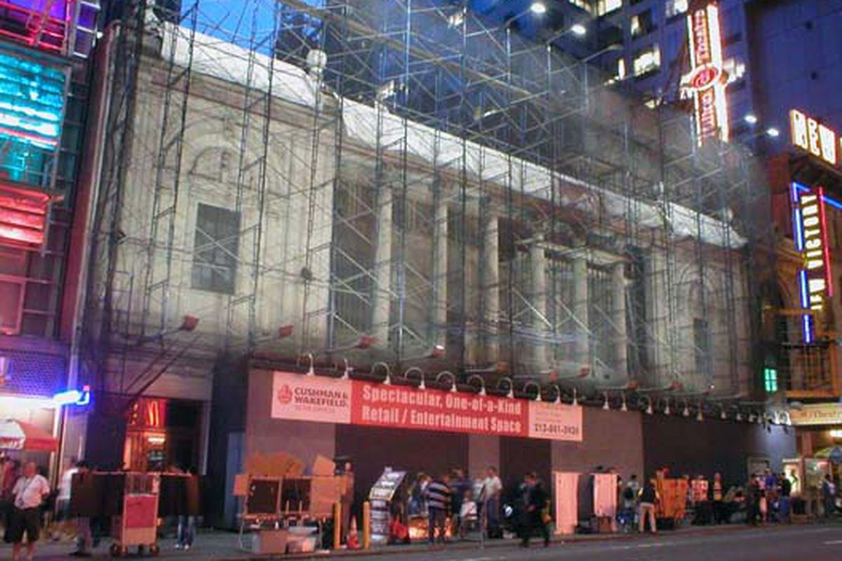 The former Marc Ecko space on 42nd Street