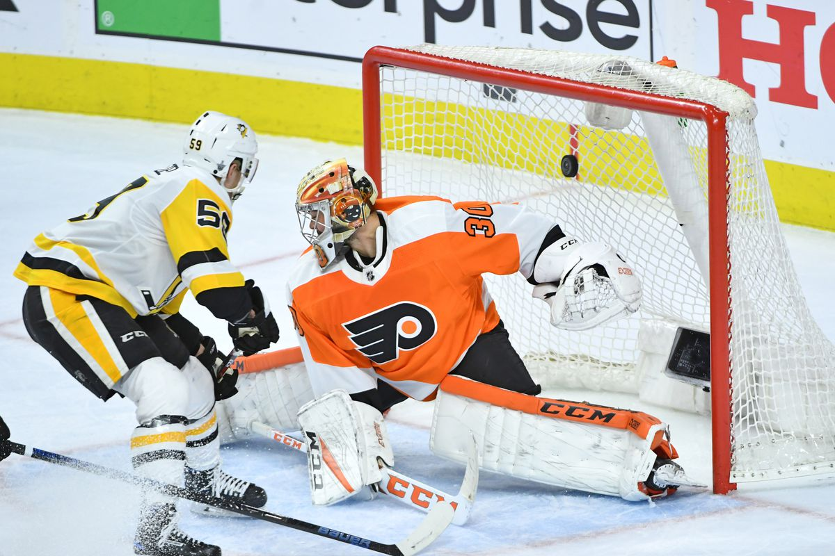 Pittsburgh Penguins   Philadelphia Flyers 2 11 2019  lines 50934a9f5
