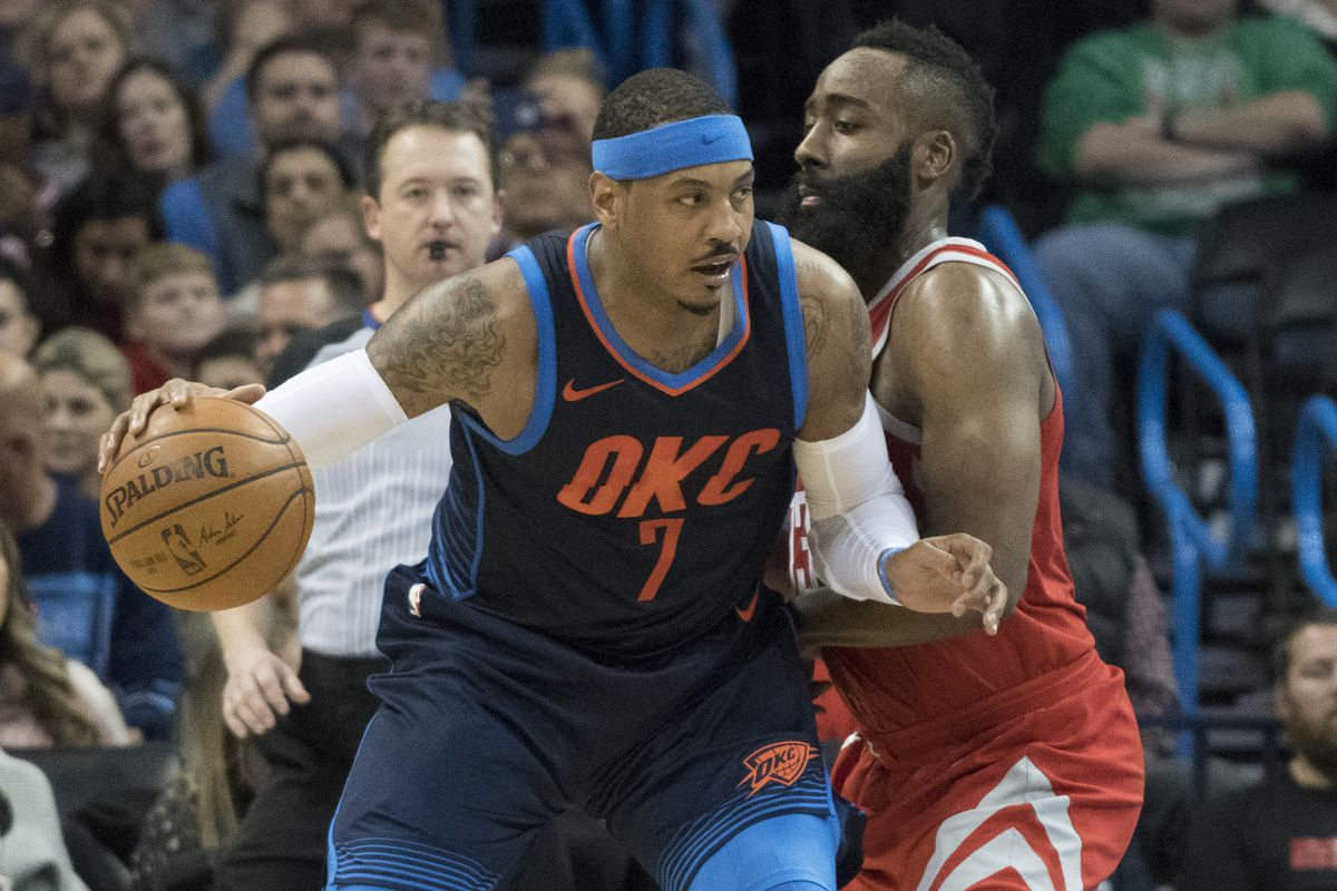 Carmelo Anthony to Rockets  What if that happened instead of the ... d897c5e00