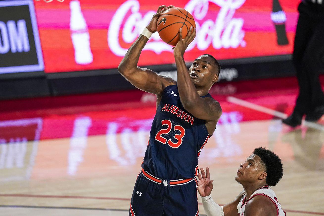 NCAA Basketball: Auburn at Georgia