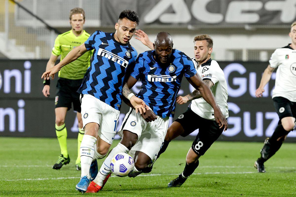 Spezia v Internazionale - Italian Serie A