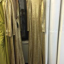 Donna Karan evening dress, $63
