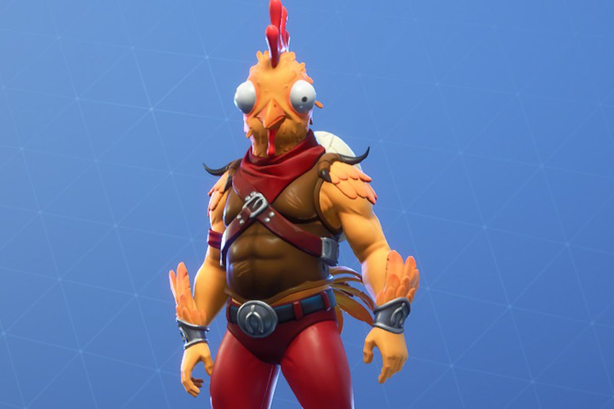 Boy S Chicken Doodle Is Turned Into Real Fortnite Skin Polygon