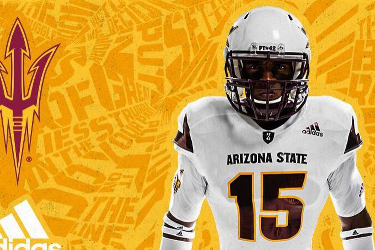 ASU Football  Grading the new Adidas uniforms - House of Sparky 871d460b7