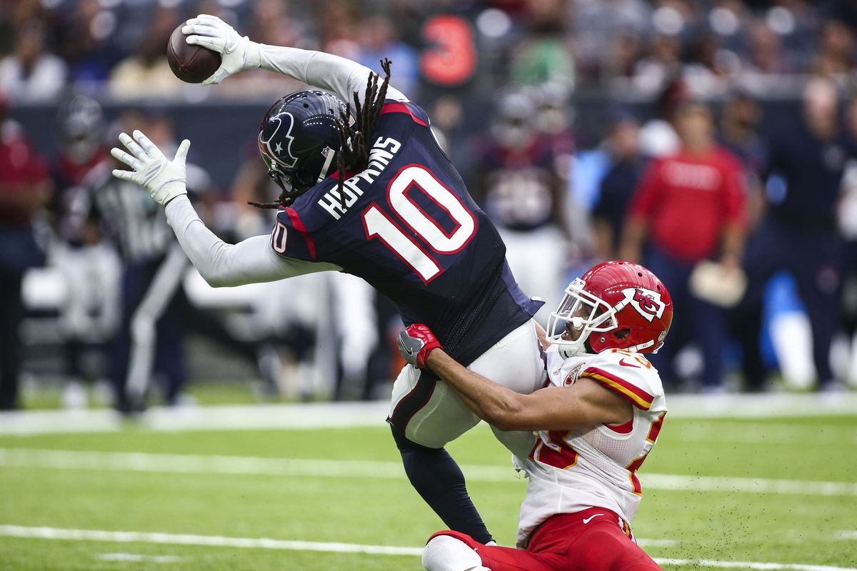 Will the Patriots double team DeAndre Hopkins again this week