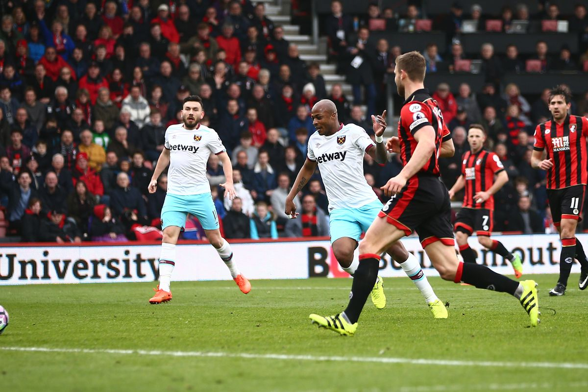 AFC Bournemouth v West Ham United - Premier League