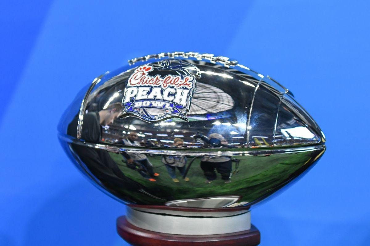 COLLEGE FOOTBALL: JAN 01 Chick-fil-A Peach Bowl - UCF v Auburn