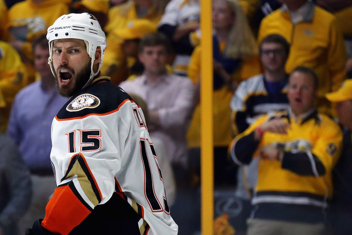 7a25982fd7c Ducks captain Ryan Getzlaf fined  10