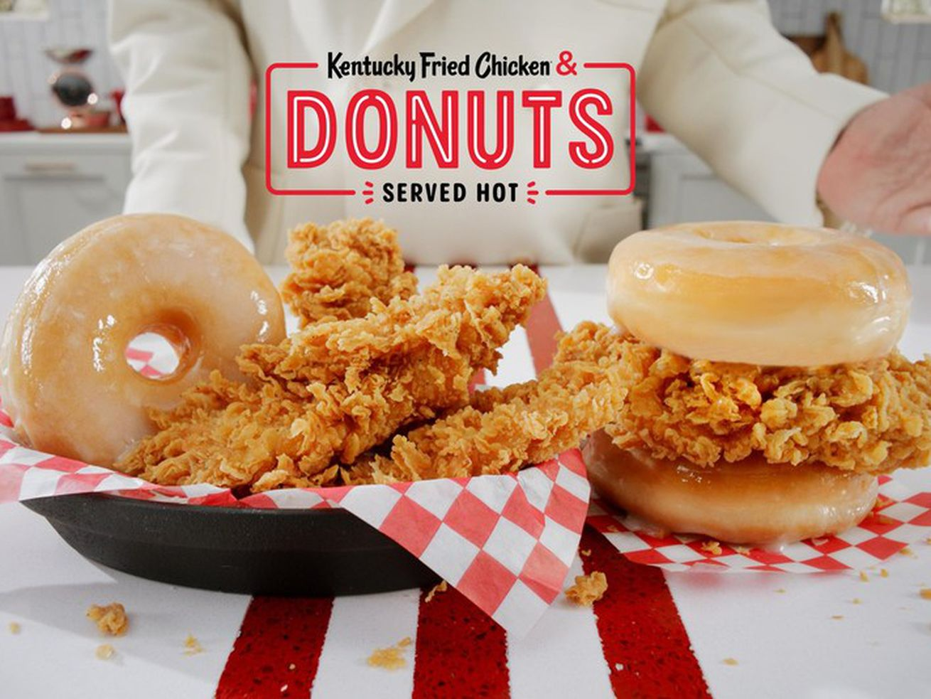 KFC's Chicken & Donuts sandwich is almost here