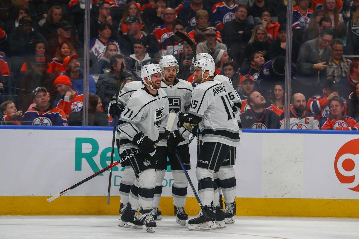 NHL: JAN 02 Kings at Oilers