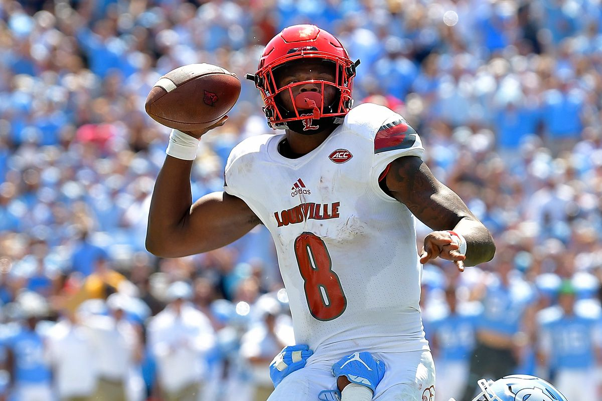 new styles 19391 08acb Lamar Jackson, NFL WR? This is dumb to argue about at this ...
