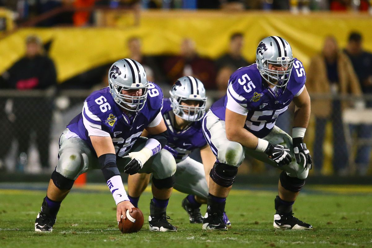 He's been the face of the K-State O-line for four years, now where will he go?