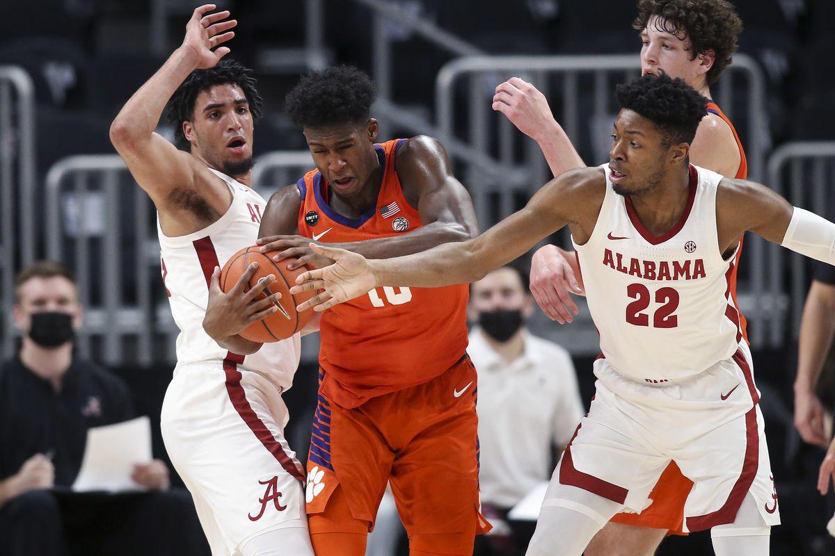 NCAA Basketball: Alabama at Clemson