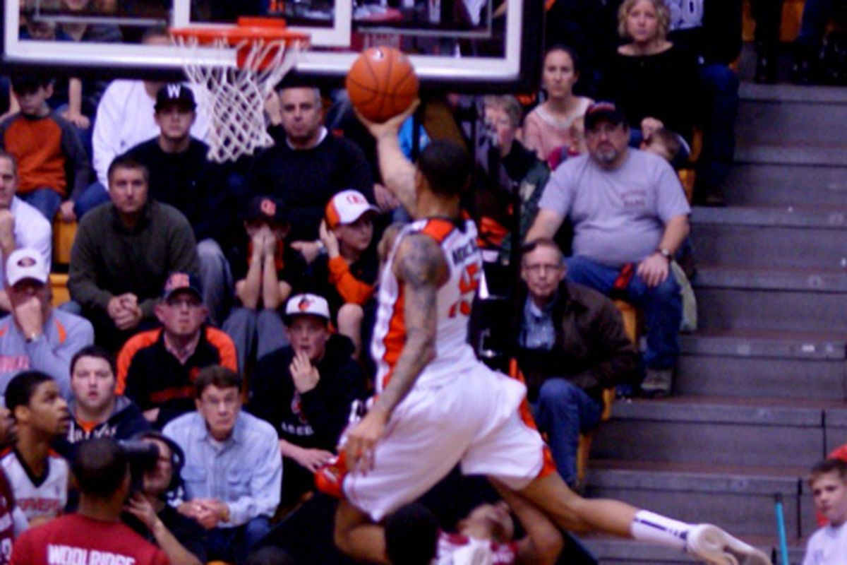 Oregon St.'s Eric Moreland will be eligible to take flight again earlier than planned, starting tomorrow at Colorado.