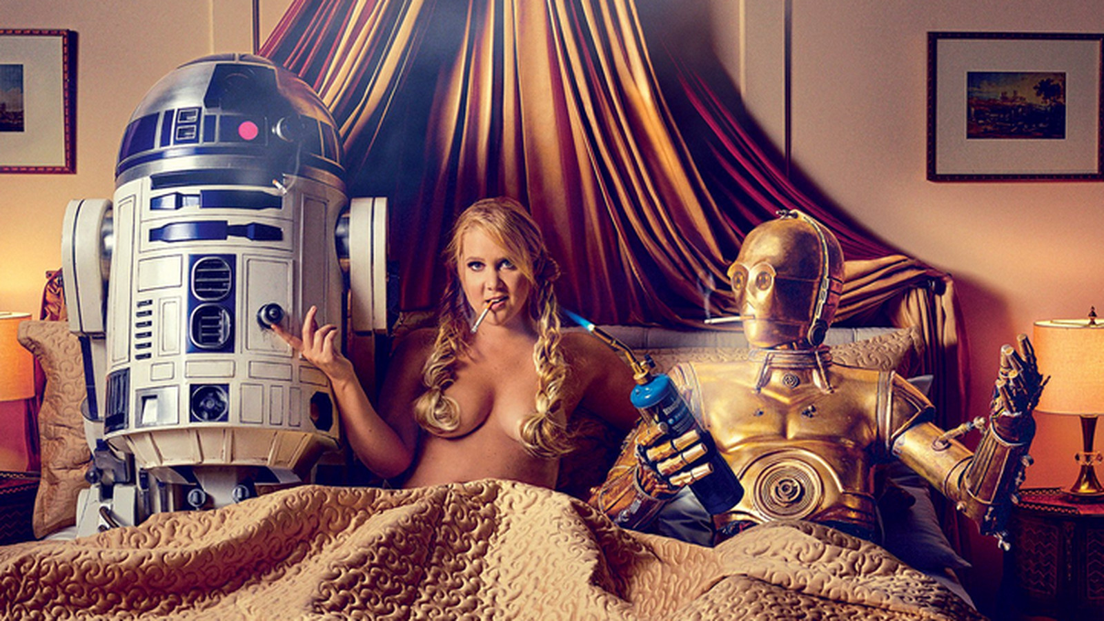 Why Amy Schumer didnt need Lucasfilms permission to have