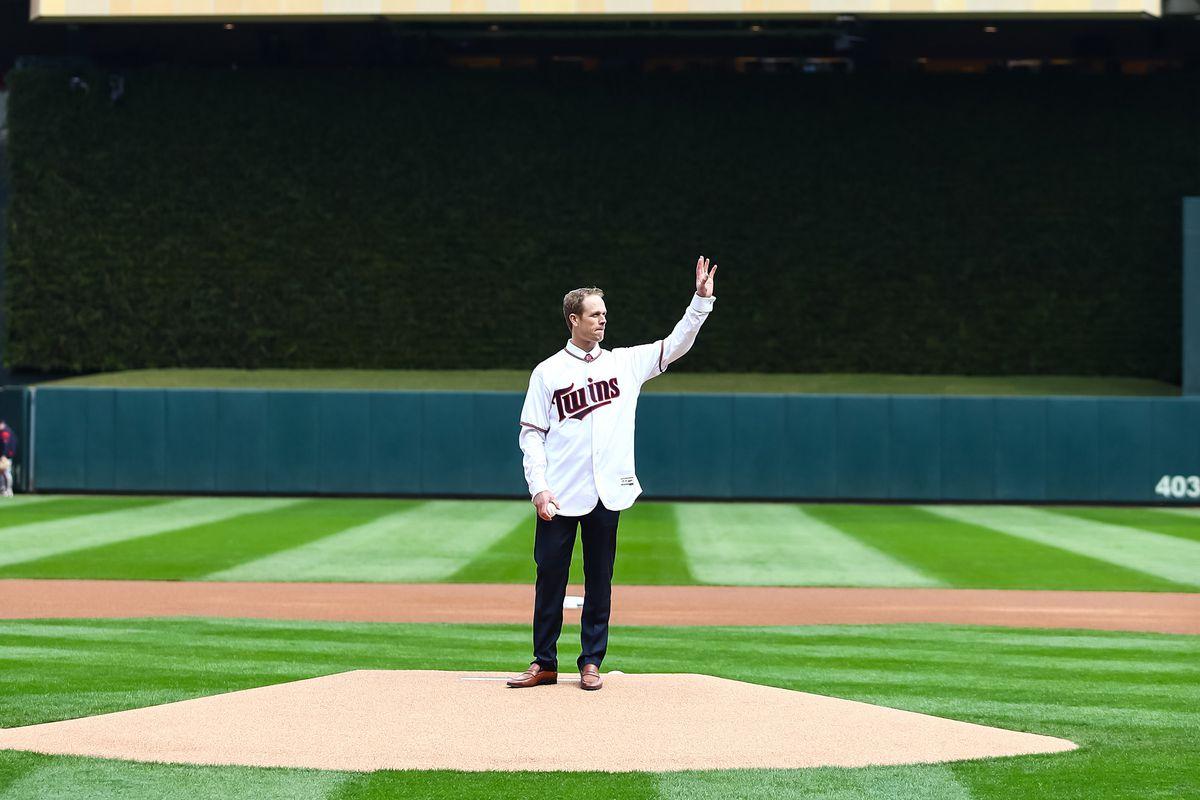 MLB: Cleveland Indians at Minnesota Twins