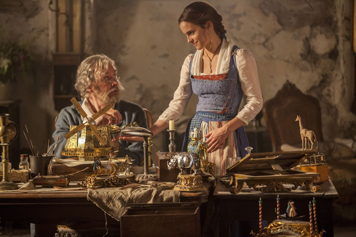 The Beauty and the Beast remake is a long series of wasted