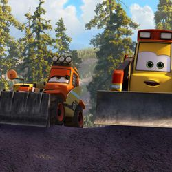 """Smokejumpers Pinecone and Avalanche are part of the firefighting team in """"Planes: Fire & Rescue."""""""