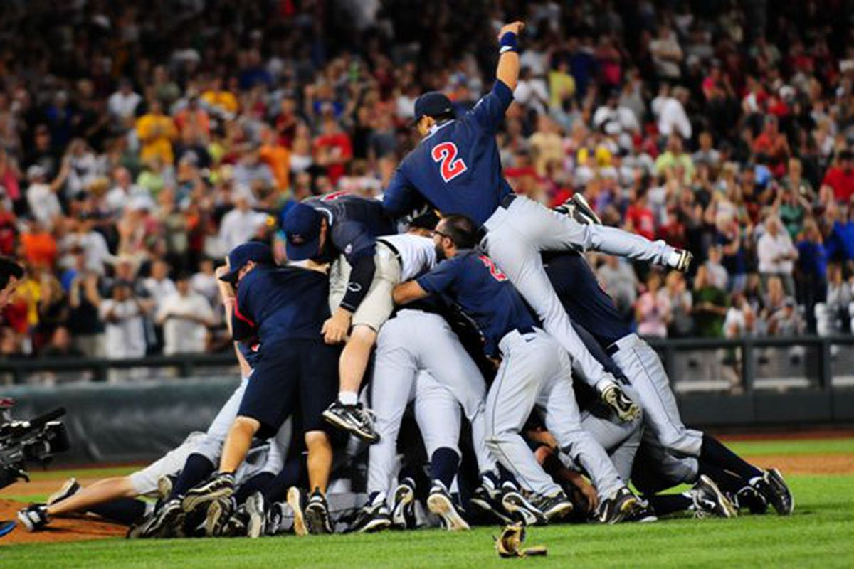 Do You Know Who Will Dogpile In Omaha This Year? Tell Us And Win.