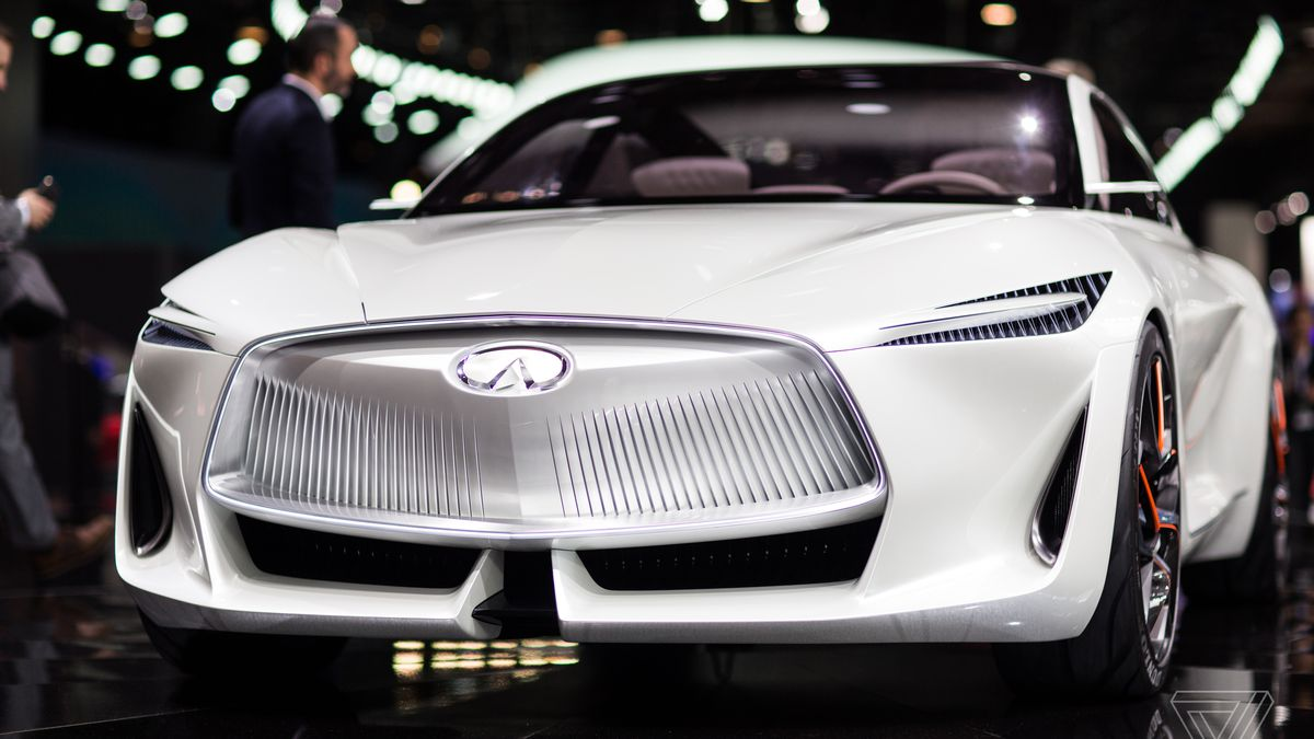 Infiniti S New Concept Car Is A Land Yacht For Movie Villains The Verge