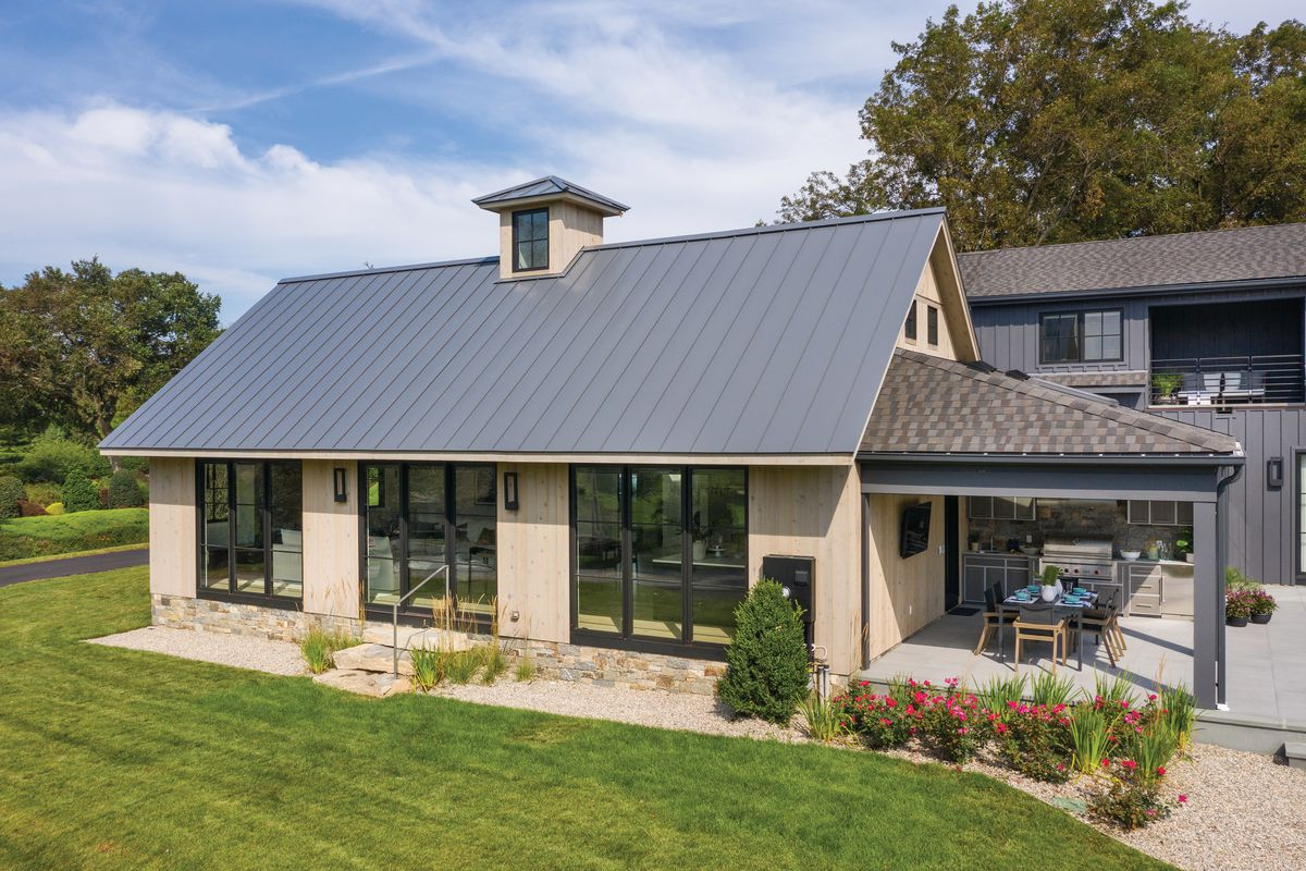 House With a Metal Roof