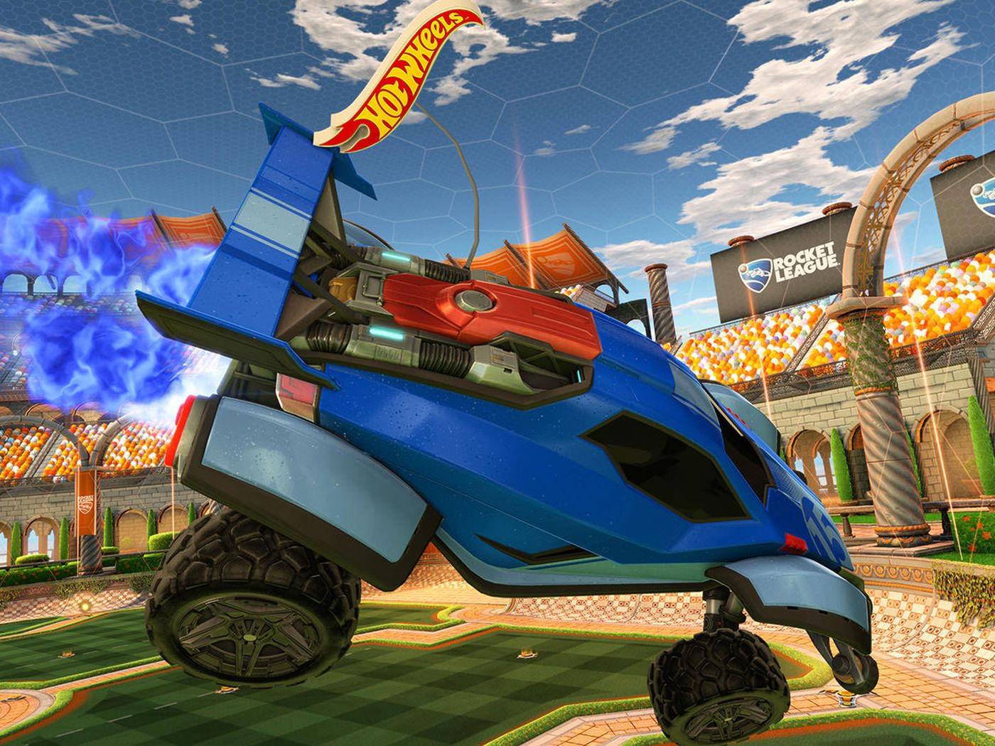 Hot Wheels is bringing Rocket League to life with remote control