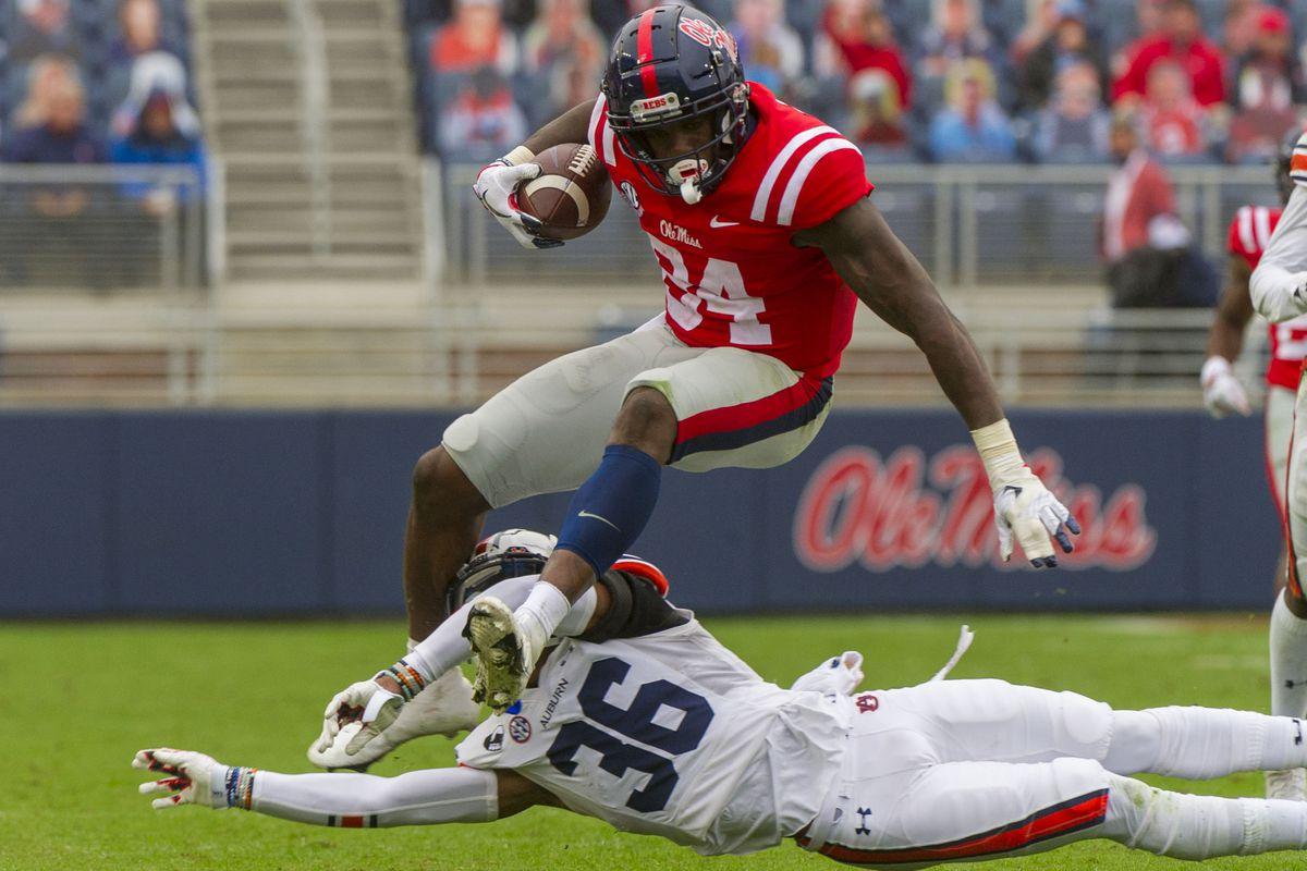 NCAA Football: Auburn at Mississippi