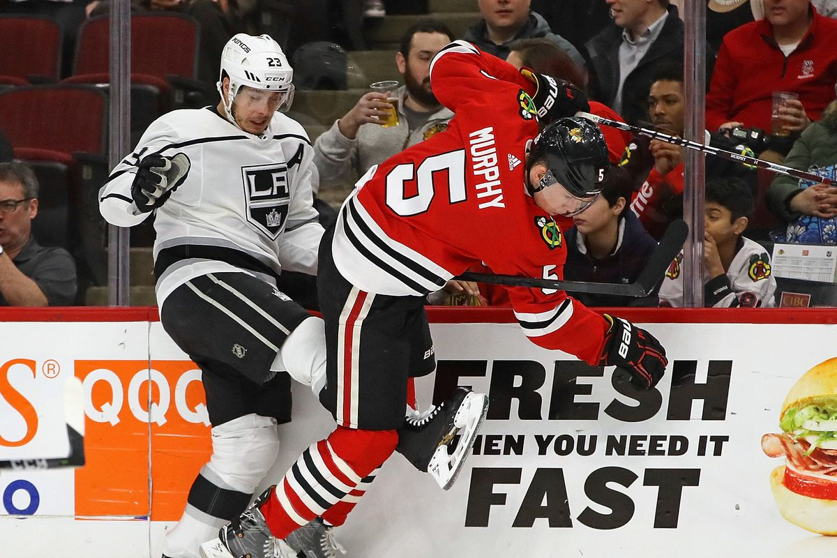 49e09fa1b Blackhawks' Connor Murphy to miss 2 months with back injury - Second ...