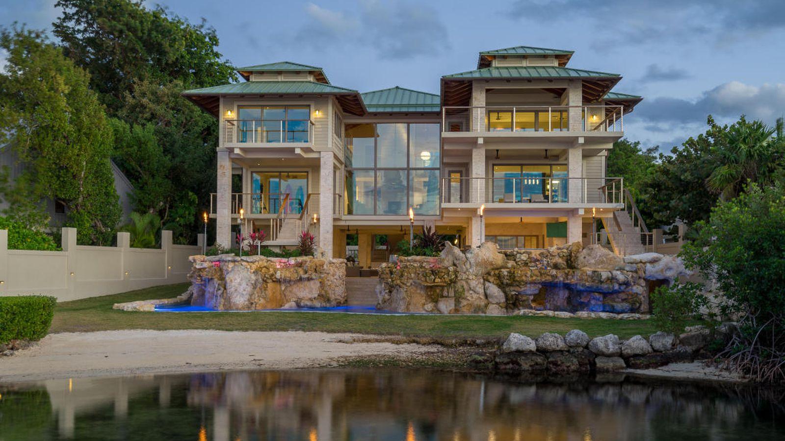 Florida Keys Dream Mansion With Sensational Grotto Asks