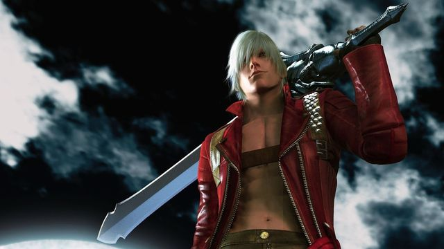 Dante in <em>Devil May Cry 3</em>.