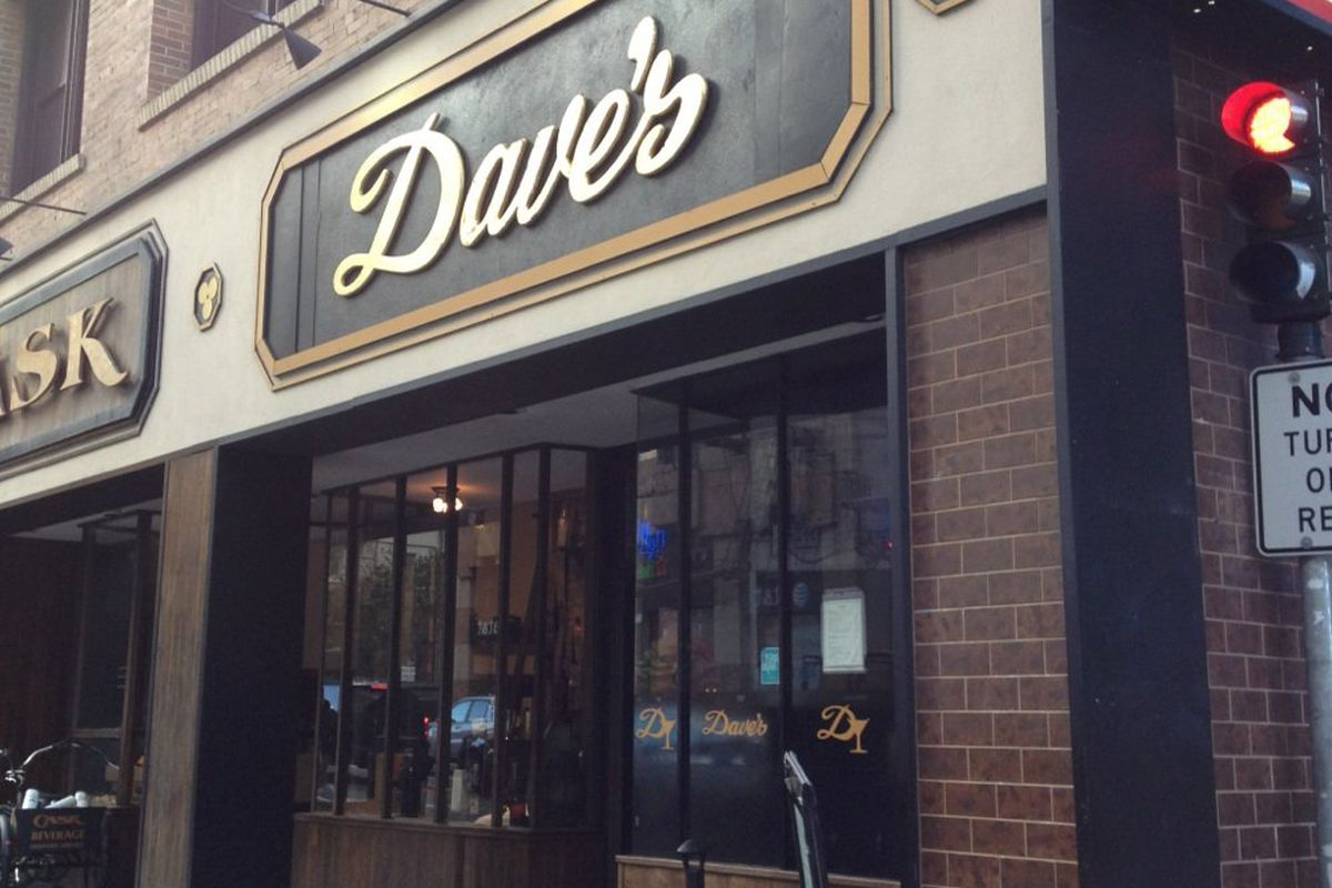 Exterior of Dave's.