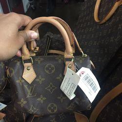 Louis Vuitton Mini Speedy, $450