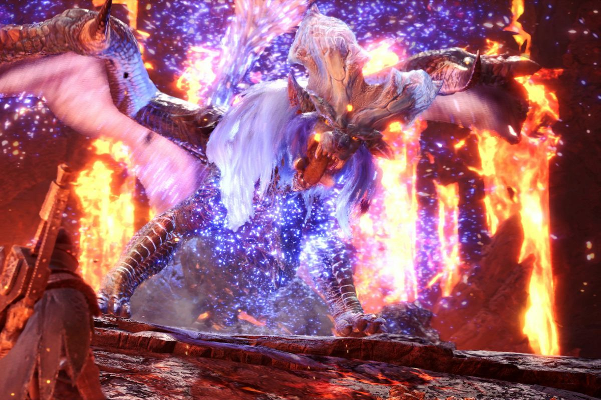 Lunastra Returns To Monster Hunter In World S Newest Update Polygon