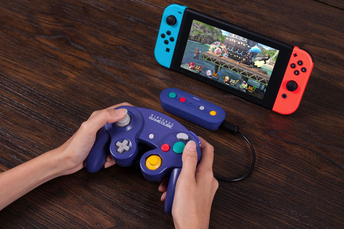 This Nintendo Switch adapter turns your GameCube controllers ... on