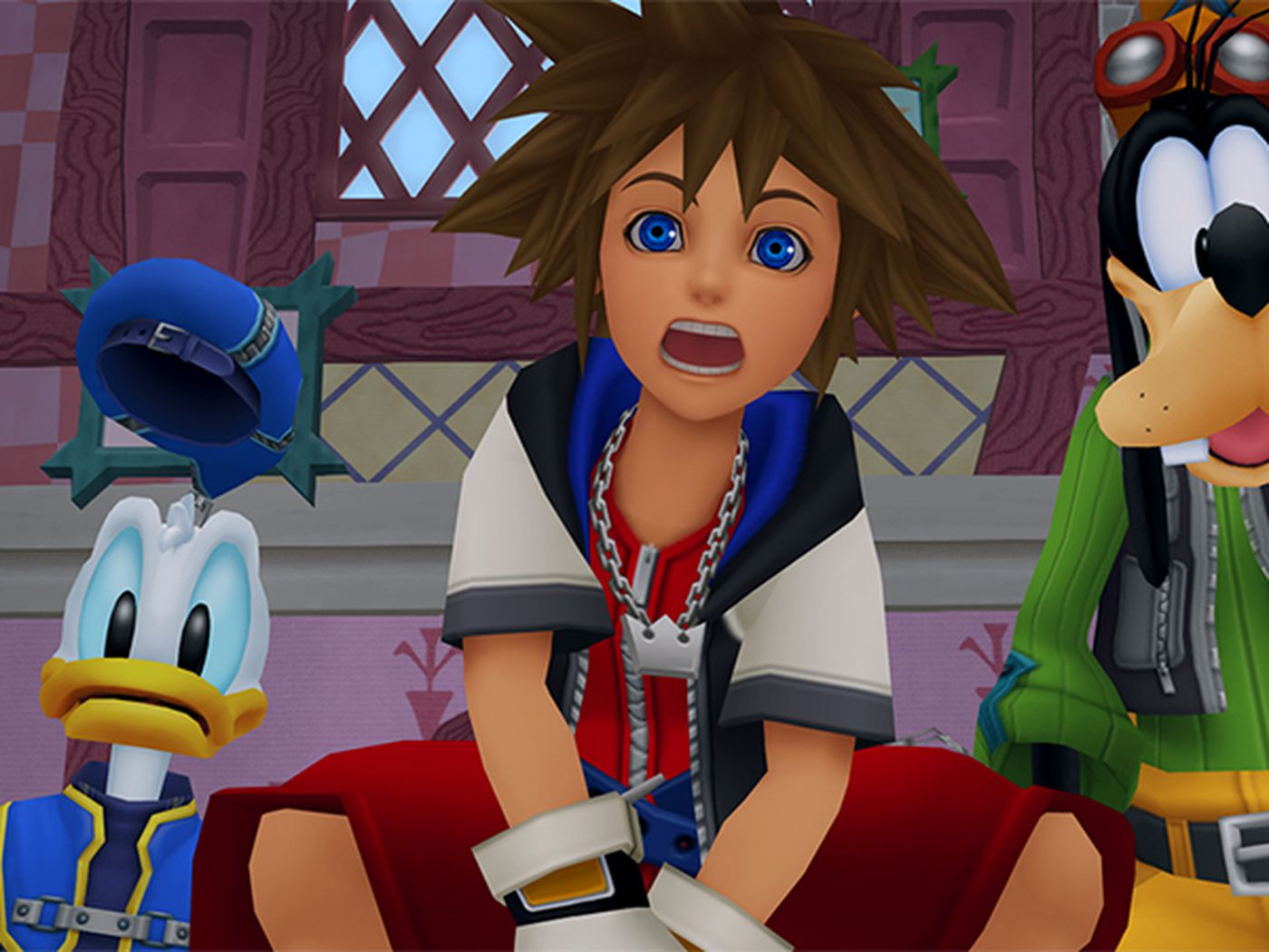 Kingdom Hearts PS4 collection comes with some big bugs